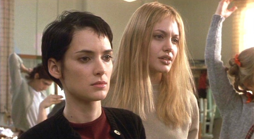Girls On Film Angelina Jolie And Winona Ryder In Girl Interrupted Winona Ryder Angelina Jolie Girl Interrupted Glasshouse Salon Girls On Film Organic Colour Systems Glasshouse Journal