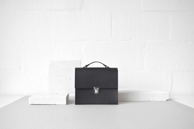 """The first bag we created was the 'Alfie One' Structured bag - hence the name. It lead the way for our simple, clean cut designs and still stands in our current collection."""
