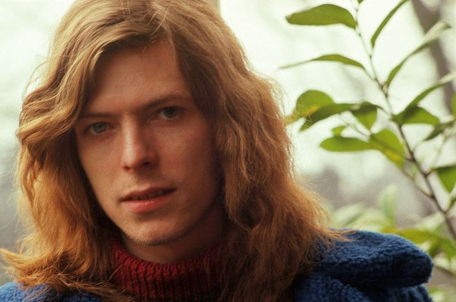 David Bowie Natural Hair Color