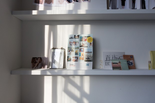 Holly's simple and serene studio mirrors the aesthetic of her brand and what The Acey stands for.