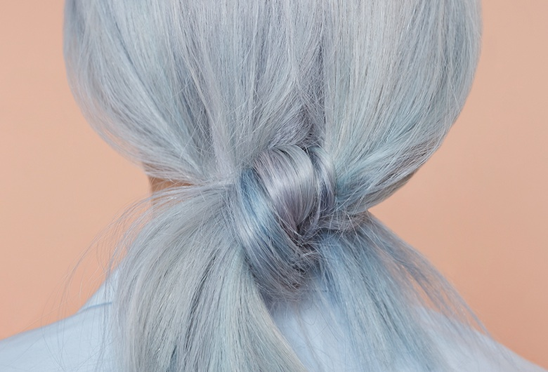Organic Colour Systems Blue Hair. Glasshouse Salon Novel Beings